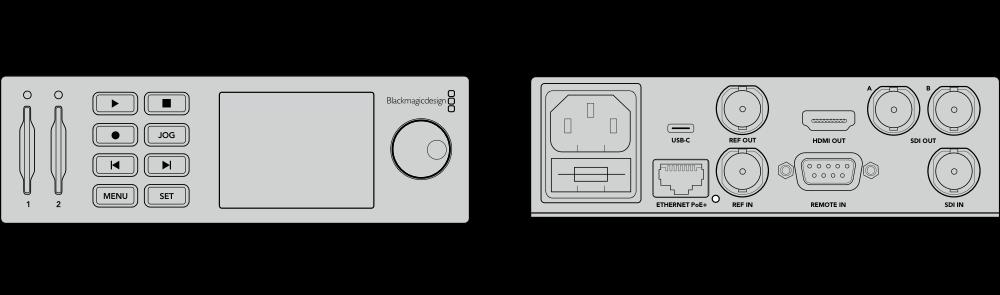 Blackmagic Design Hyperdeck Studio Mini Bmdonline Eu