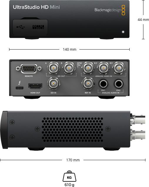 Blackmagic Design Ultrastudio Hd Mini Bmdonline Eu
