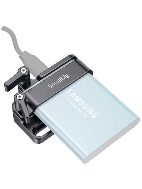 SmallRig Samsung T5 SSD Mount for BMPCC 4K