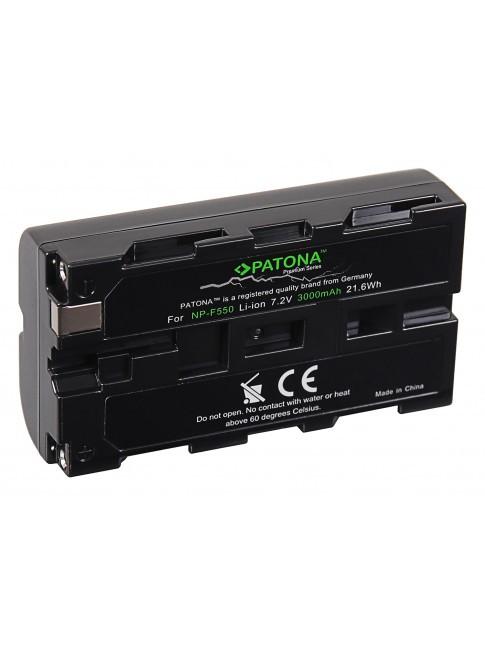 PATONA Premium batteria per Sony NP-F550 F330 F530 F750 F930 F920 F550