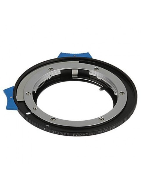 Fotodiox Pro Lens Mount Adapter - Nikon G Lens to Canon EOS (EF, EF-S) with Focus Confirmation Chip