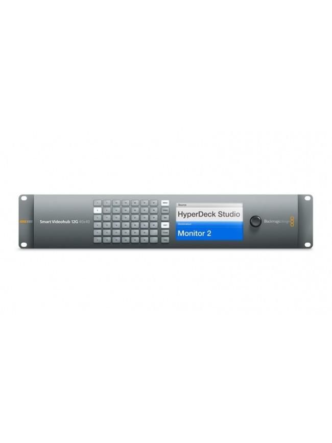 Blackmagic Design Smart Videohub 12G 40x40