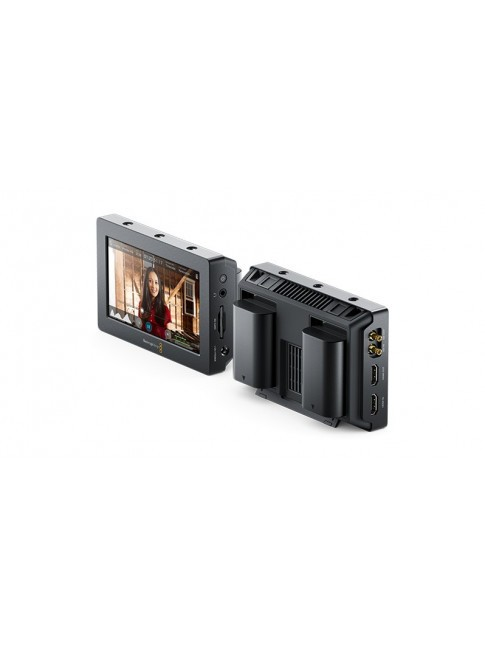 Blackmagic Video Assist with two cables from BNC to DIN 1.0/2.3