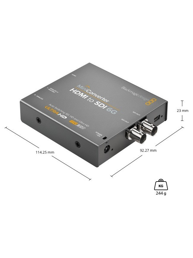 Blackmagic Design Mini Converter HDMI to SDI 2