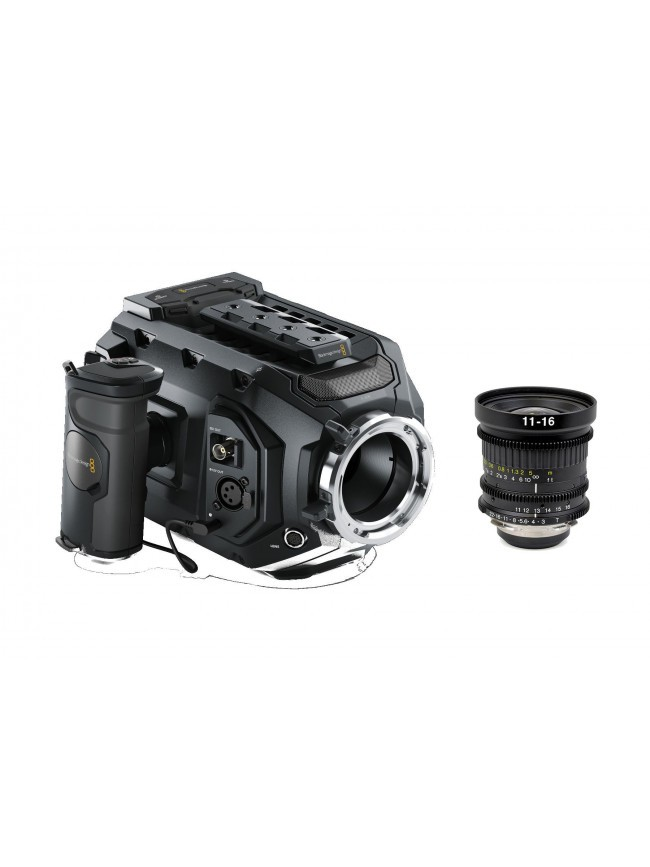 Blackmagic URSA Mini 4.6K PL KIT con Zoom Tokina 11-16mm T3.0 PL