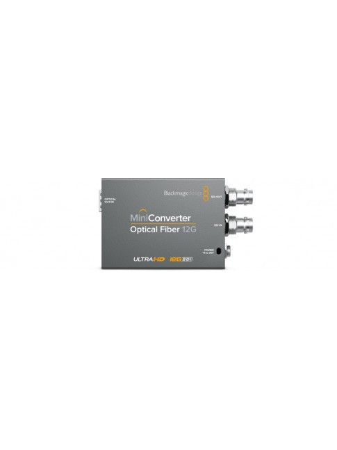 Blackmagic Design Mini Converter Optical Fiber 12G - occasione