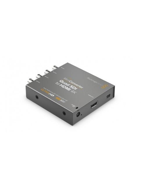 Blackmagic Design Mini Converter Quad SDI to HDMI 4K 2 - Open Box