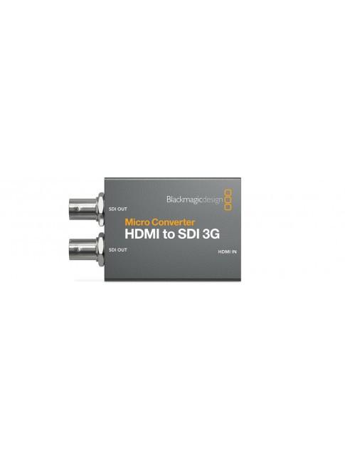 Blackmagic Design Micro Converter HDMI to SDI 3G wPSU (con alimentatore)